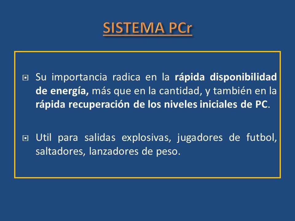 SISTEMA PCr