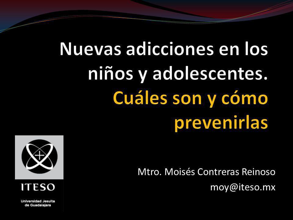 Mtro. Moisés Contreras Reinoso moy@iteso.mx