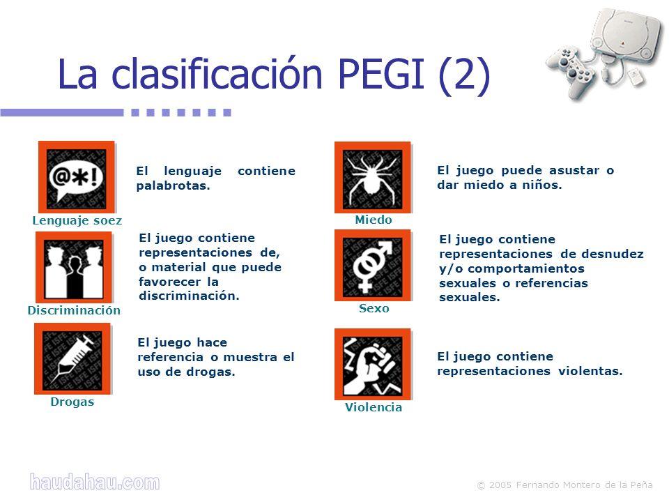 La clasificación PEGI (2)