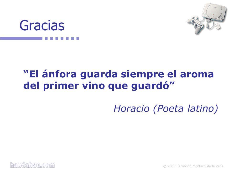 Gracias El ánfora guarda siempre el aroma del primer vino que guardó Horacio (Poeta latino)