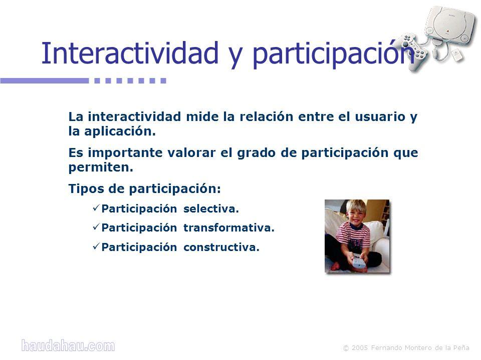 Interactividad y participación