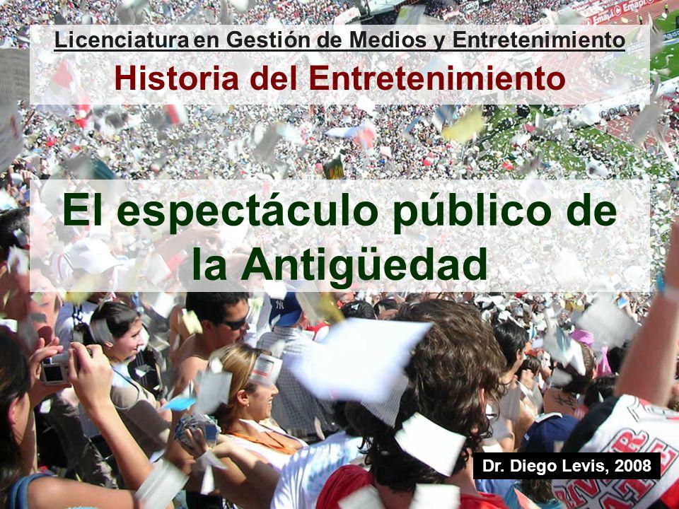 El espectáculo público de la Antigüedad