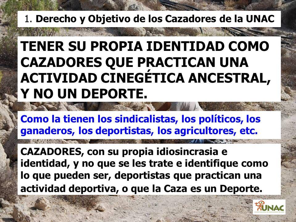 1. Derecho y Objetivo de los Cazadores de la UNAC
