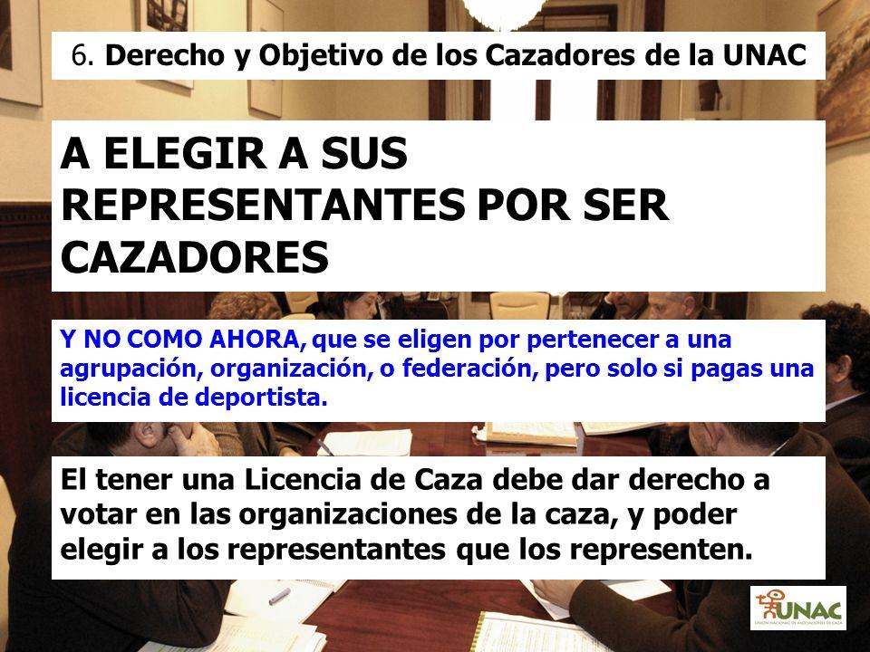6. Derecho y Objetivo de los Cazadores de la UNAC