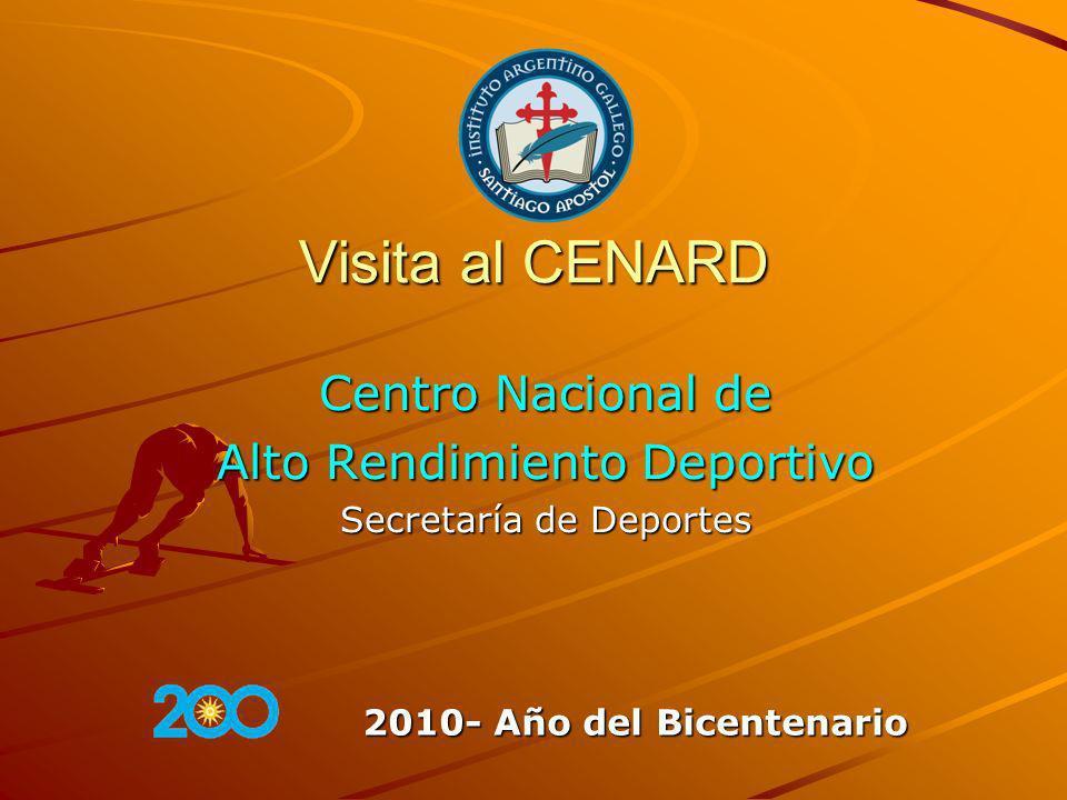 Centro Nacional de Alto Rendimiento Deportivo Secretaría de Deportes
