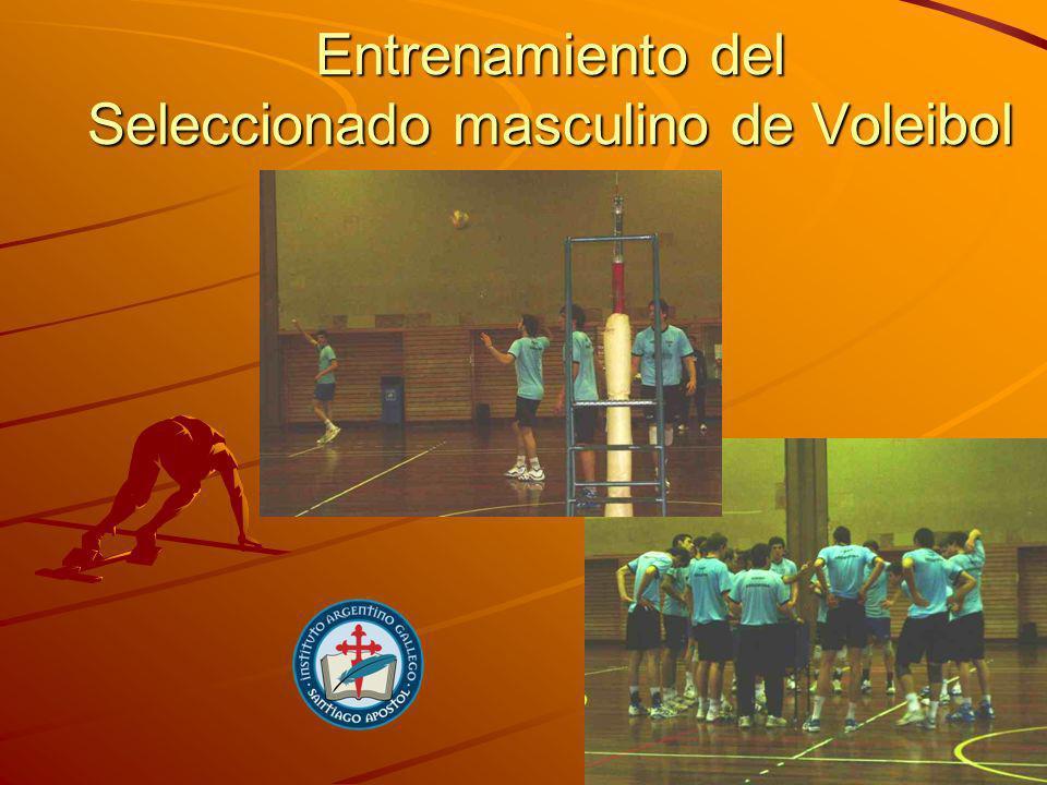 Entrenamiento del Seleccionado masculino de Voleibol
