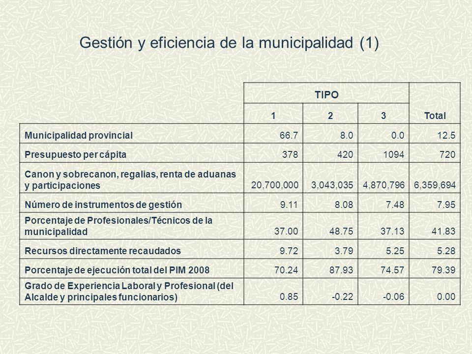 Gestión y eficiencia de la municipalidad (1)
