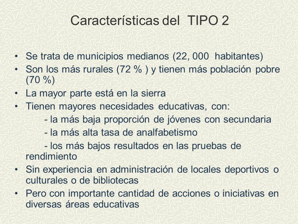Características del TIPO 2