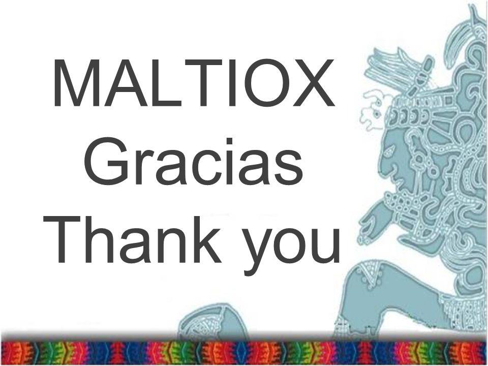 MALTIOX Gracias Thank you