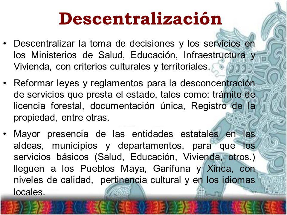 Descentralización