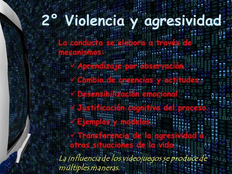 2° Violencia y agresividad