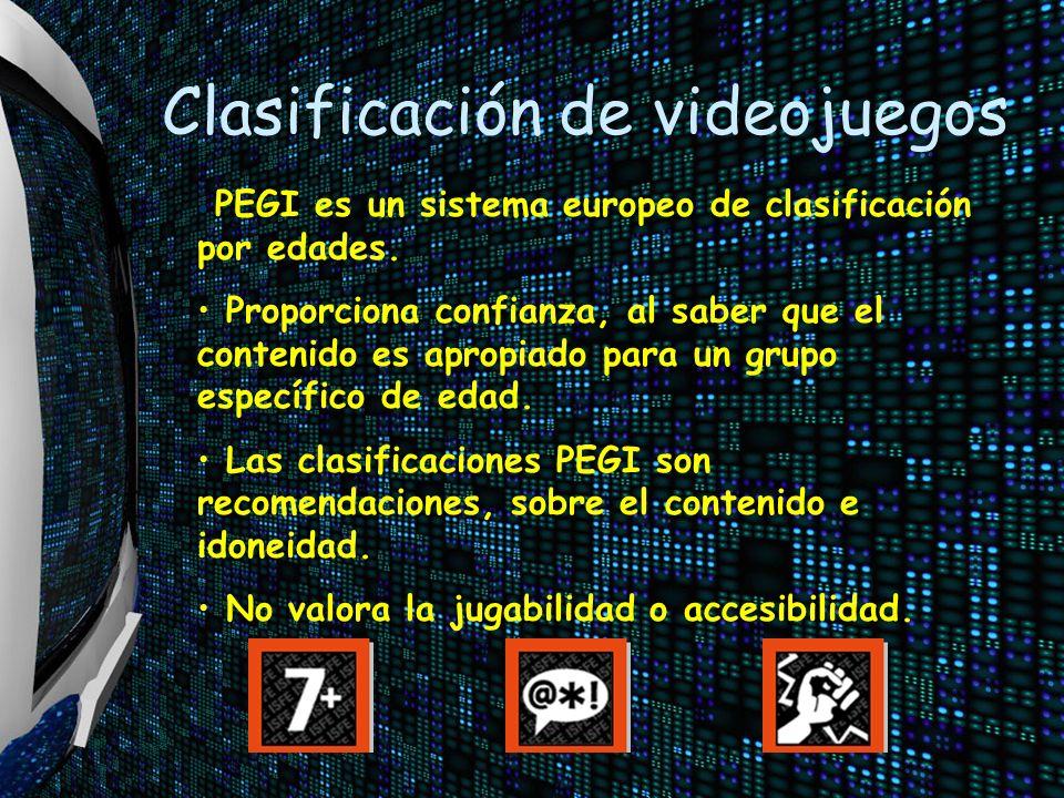 Clasificación de videojuegos