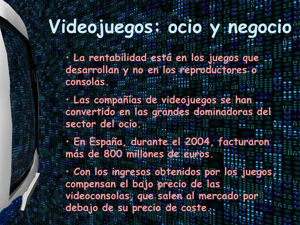 Videojuegos: ocio y negocio