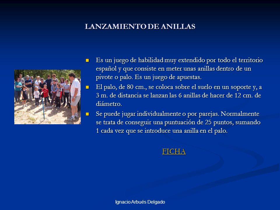 LANZAMIENTO DE ANILLAS