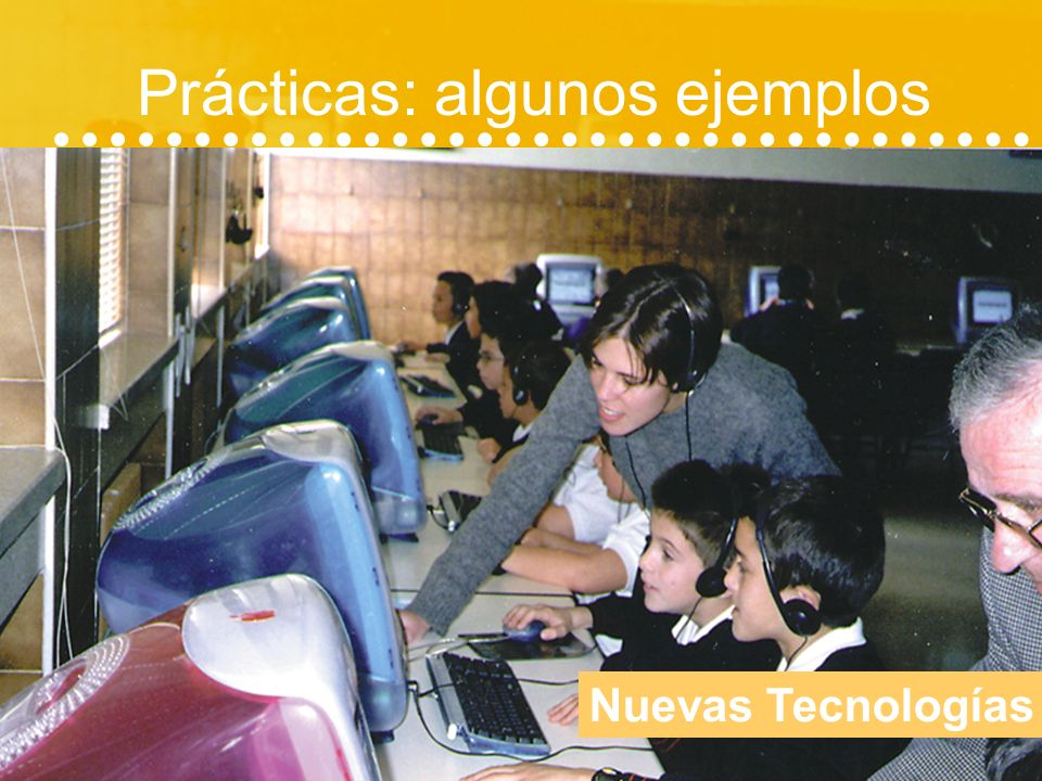 Prácticas: algunos ejemplos