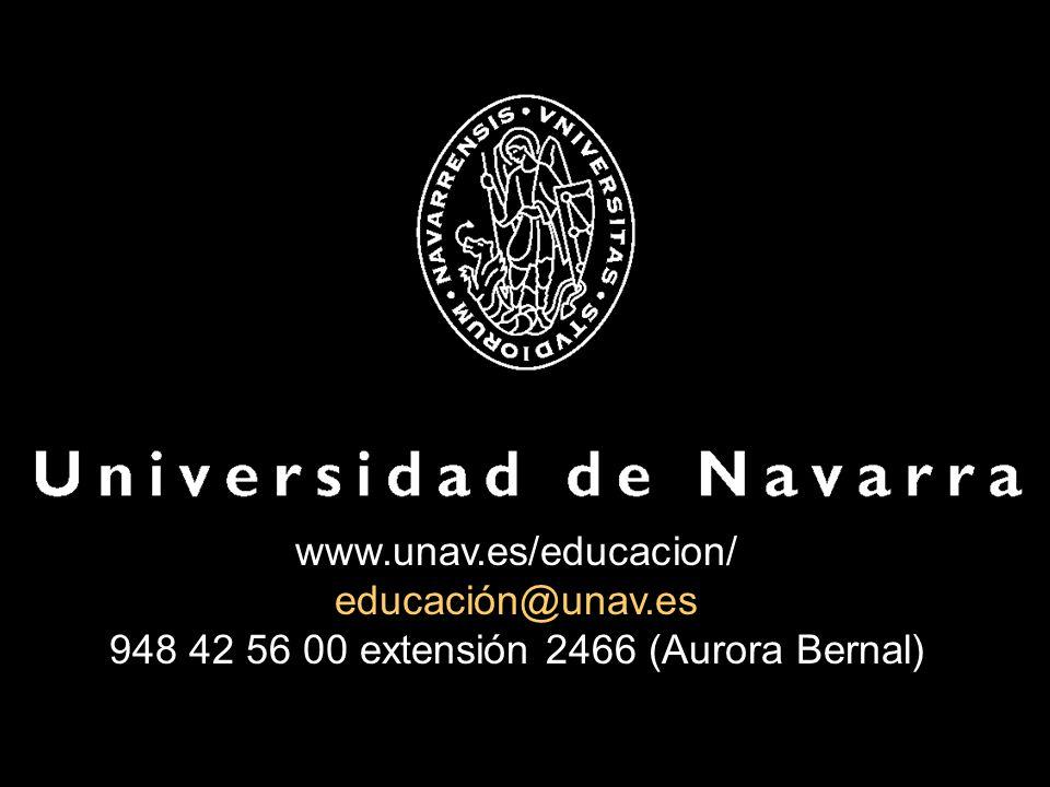 www. unav. es/educacion/ educación@unav