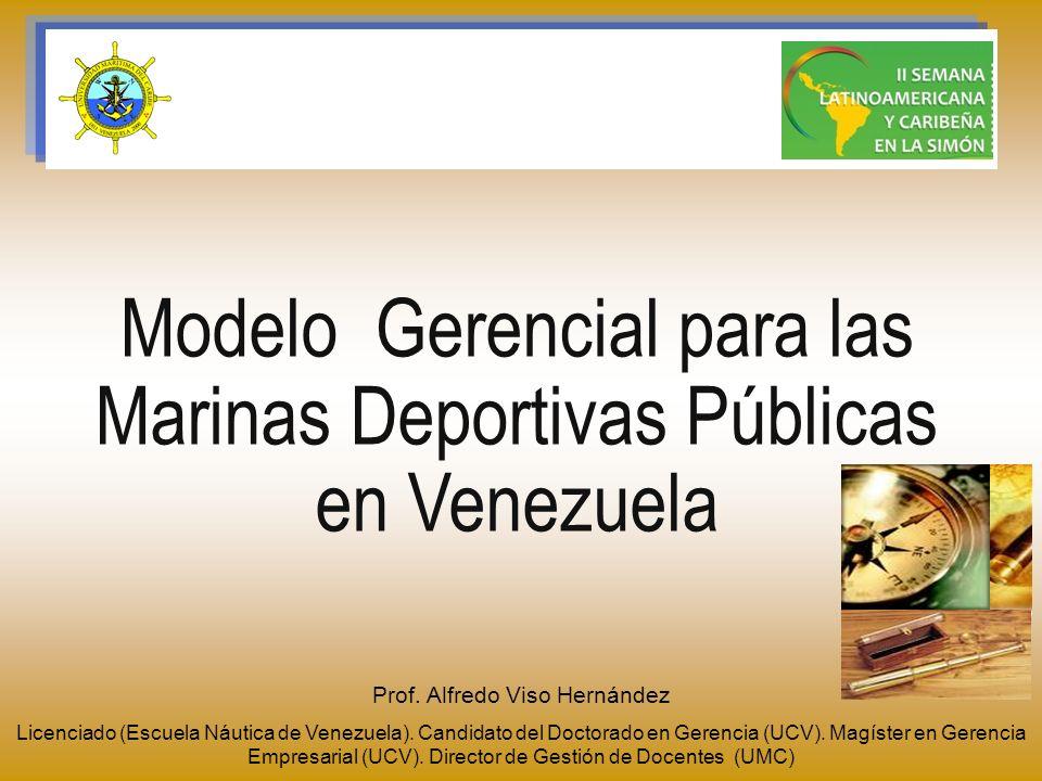 Modelo Gerencial para las Marinas Deportivas Públicas en Venezuela