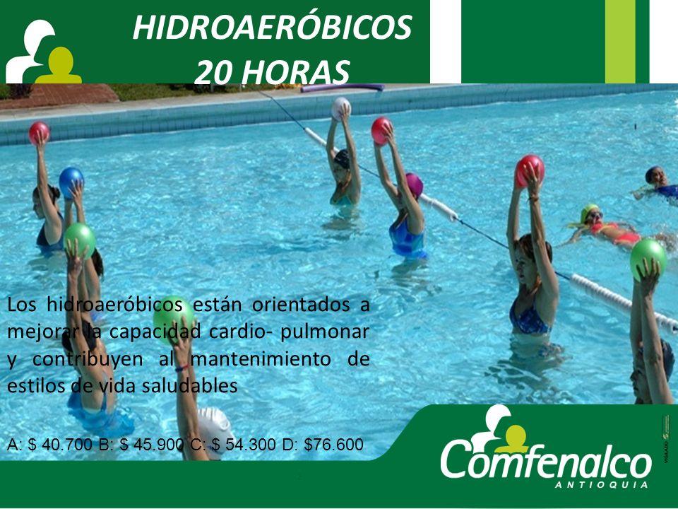 HIDROAERÓBICOS 20 HORAS.