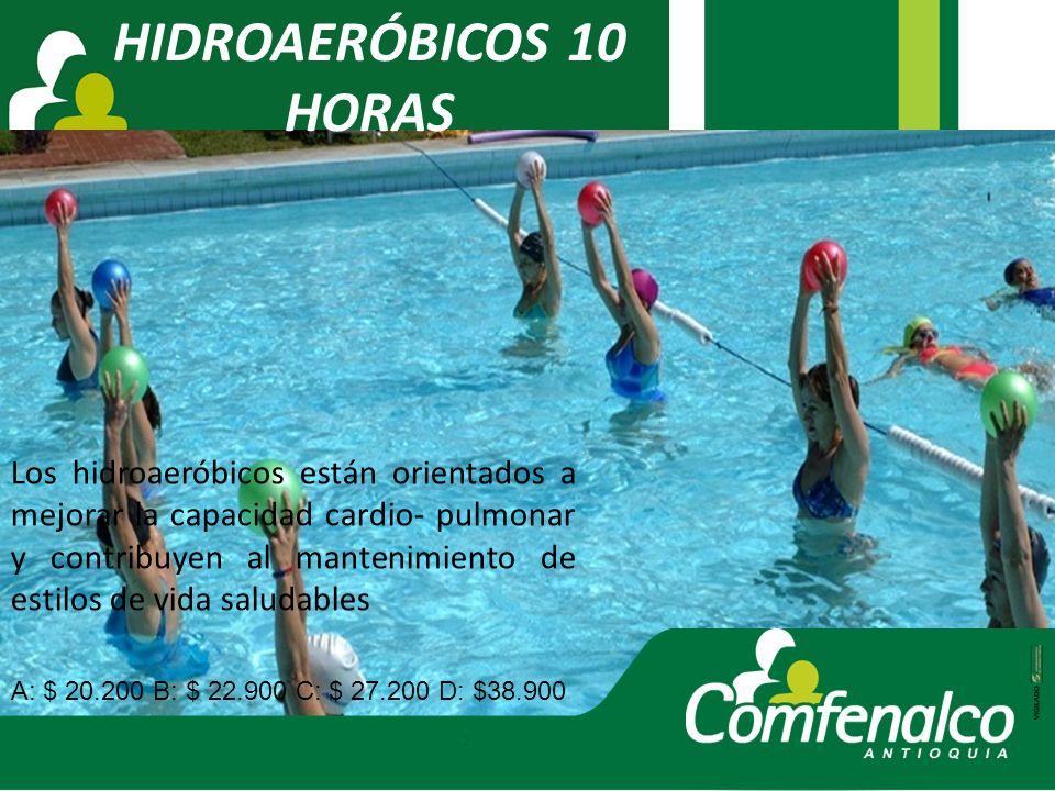 HIDROAERÓBICOS 10 HORAS