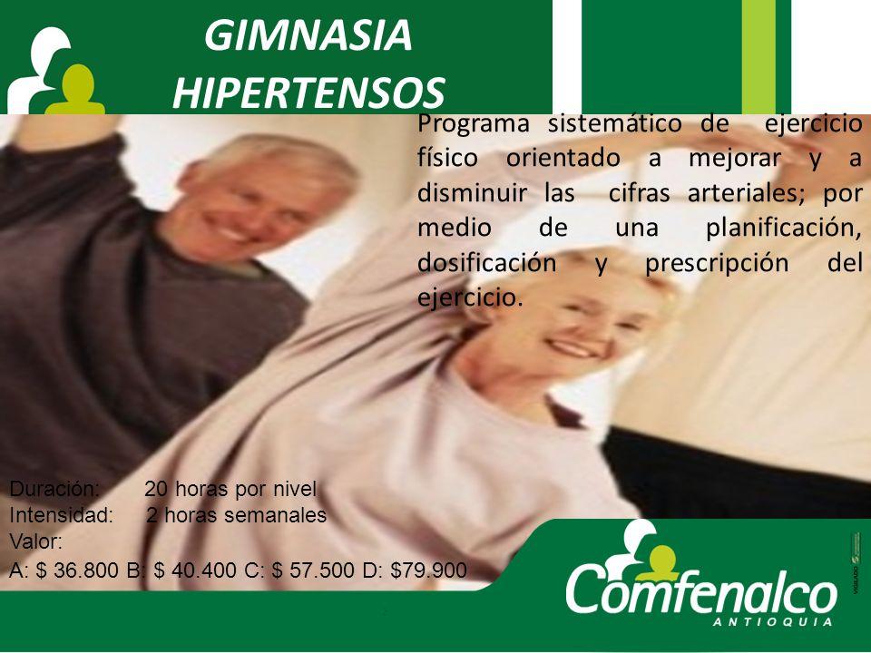 GIMNASIA HIPERTENSOS.