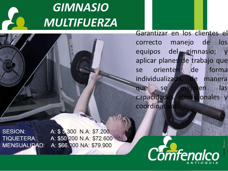 GIMNASIO MULTIFUERZA