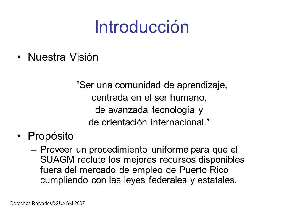 Introducción Nuestra Visión Propósito