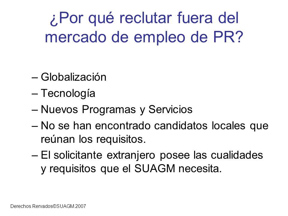 ¿Por qué reclutar fuera del mercado de empleo de PR