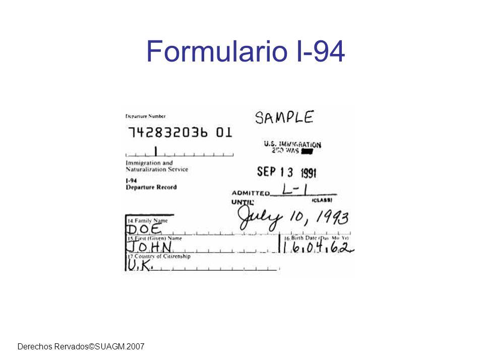 Formulario I-94