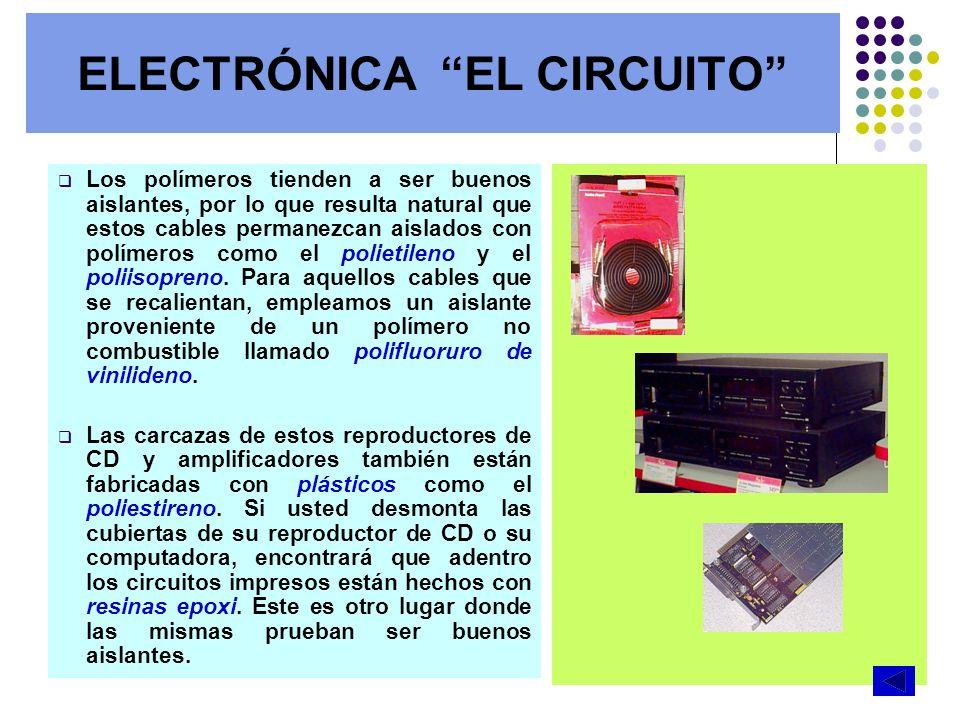 ELECTRÓNICA EL CIRCUITO