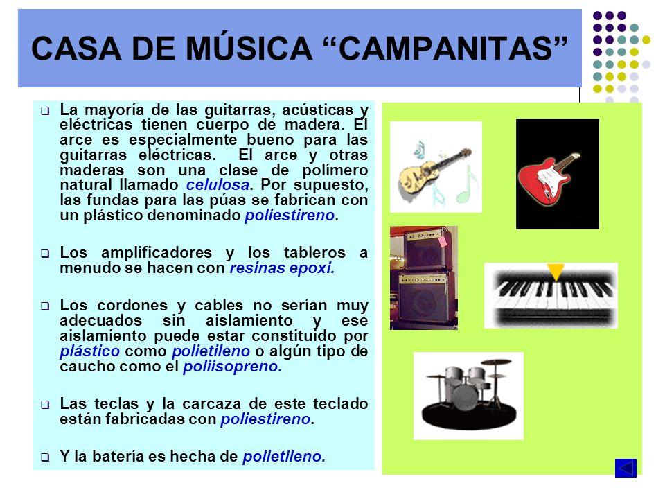 CASA DE MÚSICA CAMPANITAS