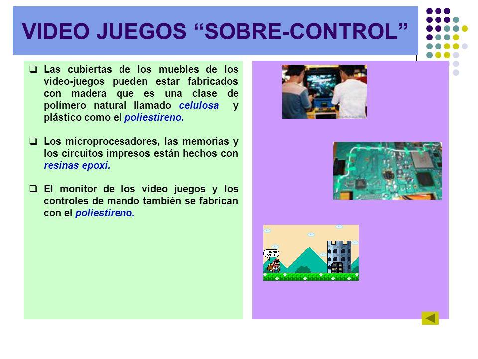VIDEO JUEGOS SOBRE-CONTROL
