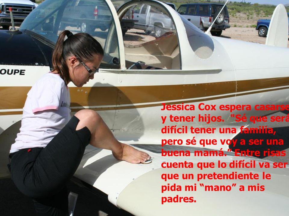 Jessica Cox espera casarse y tener hijos