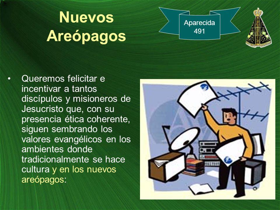 Nuevos Areópagos Aparecida. 491.