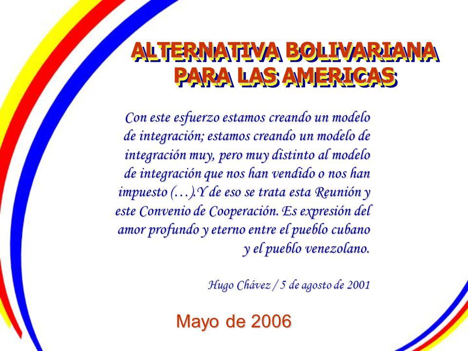 ALTERNATIVA BOLIVARIANA PARA LAS AMERICAS