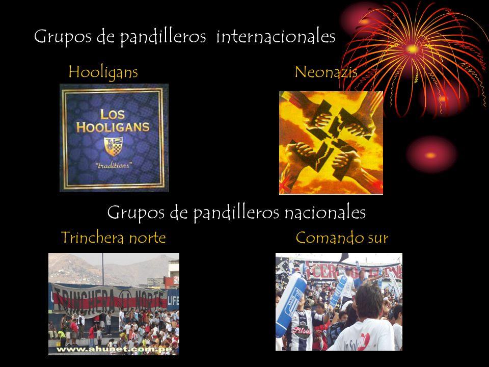 Grupos de pandilleros internacionales