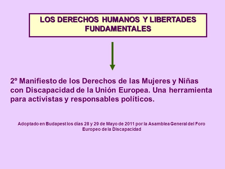 LOS DERECHOS HUMANOS Y LIBERTADES FUNDAMENTALES