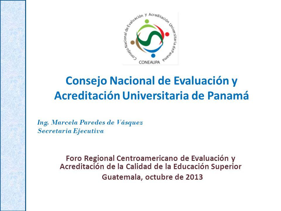 Consejo Nacional de Evaluación y Acreditación Universitaria de Panamá