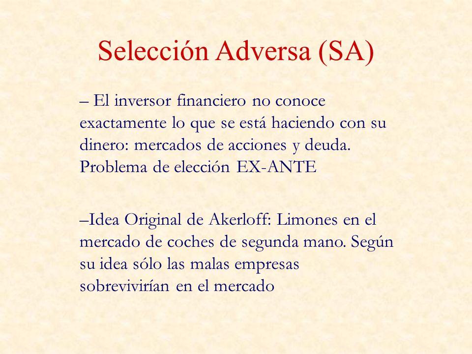 Selección Adversa (SA)
