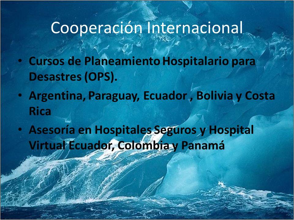 Cooperación Internacional