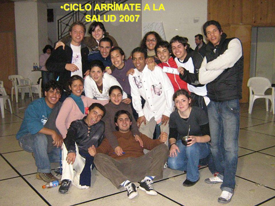 CICLO ARRÍMATE A LA SALUD 2007