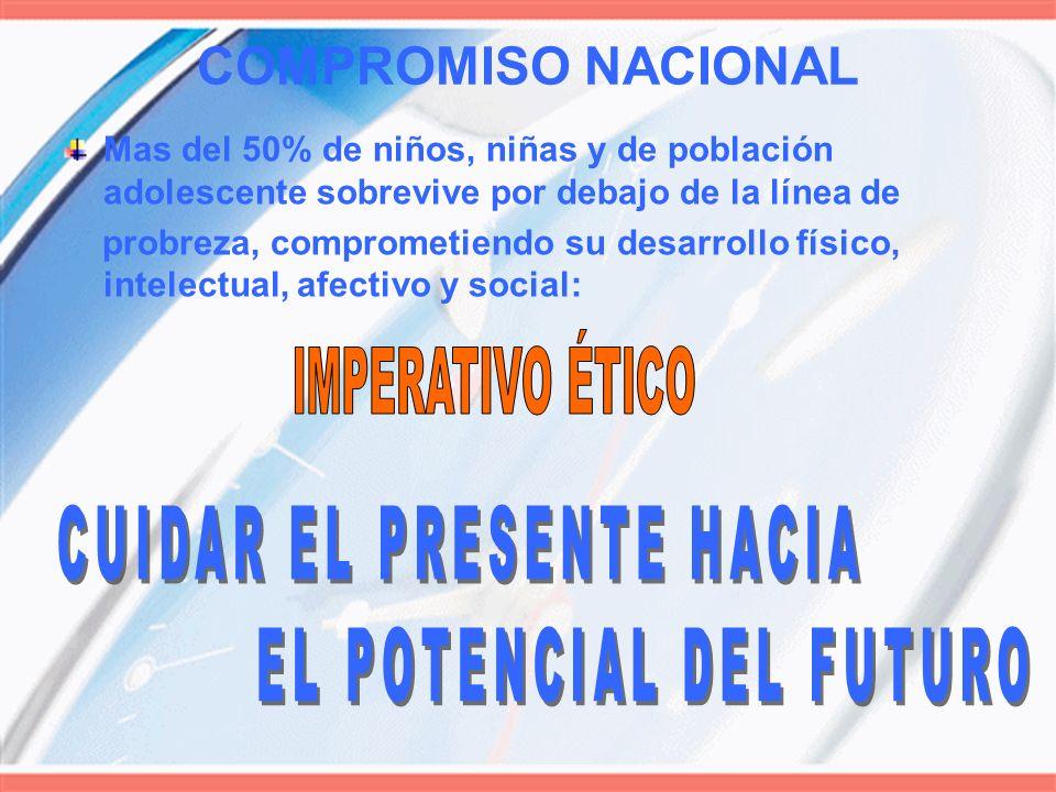 COMPROMISO NACIONAL CUIDAR EL PRESENTE HACIA EL POTENCIAL DEL FUTURO