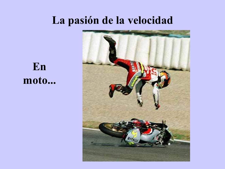 La pasión de la velocidad