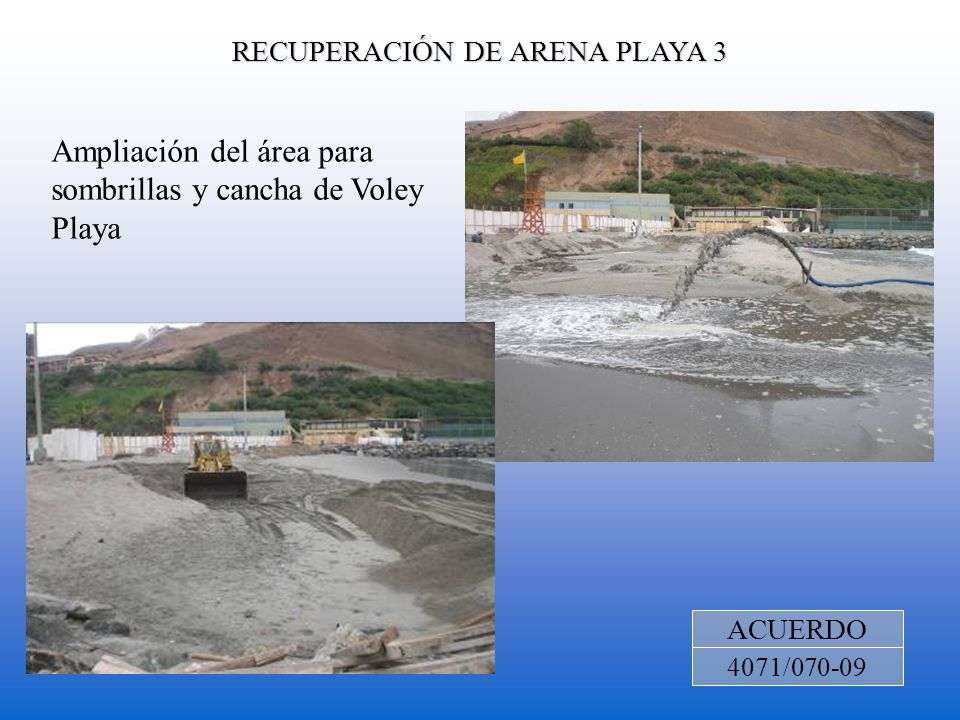 RECUPERACIÓN DE ARENA PLAYA 3