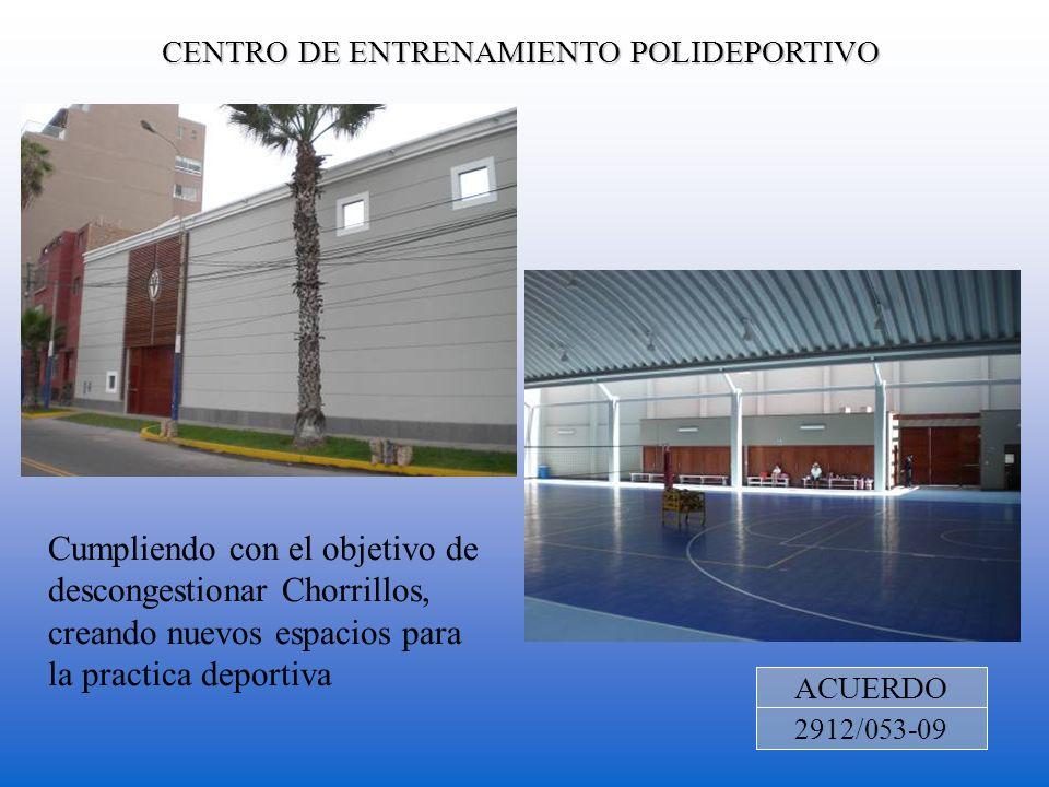 CENTRO DE ENTRENAMIENTO POLIDEPORTIVO