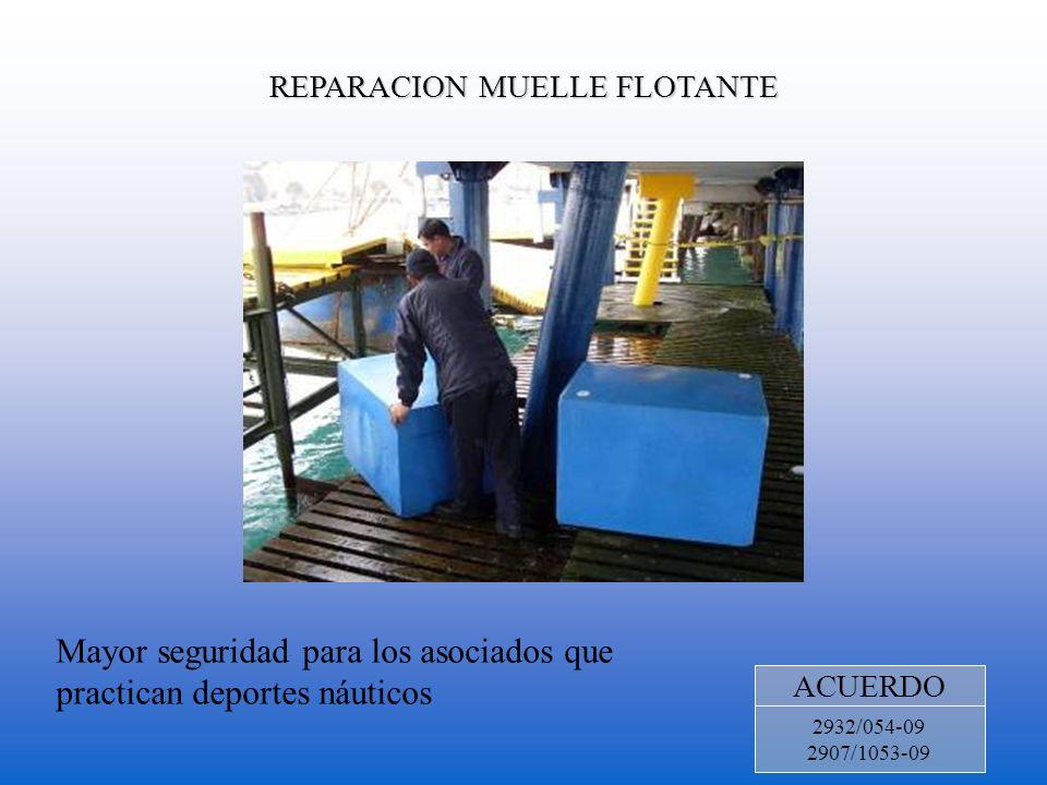 REPARACION MUELLE FLOTANTE