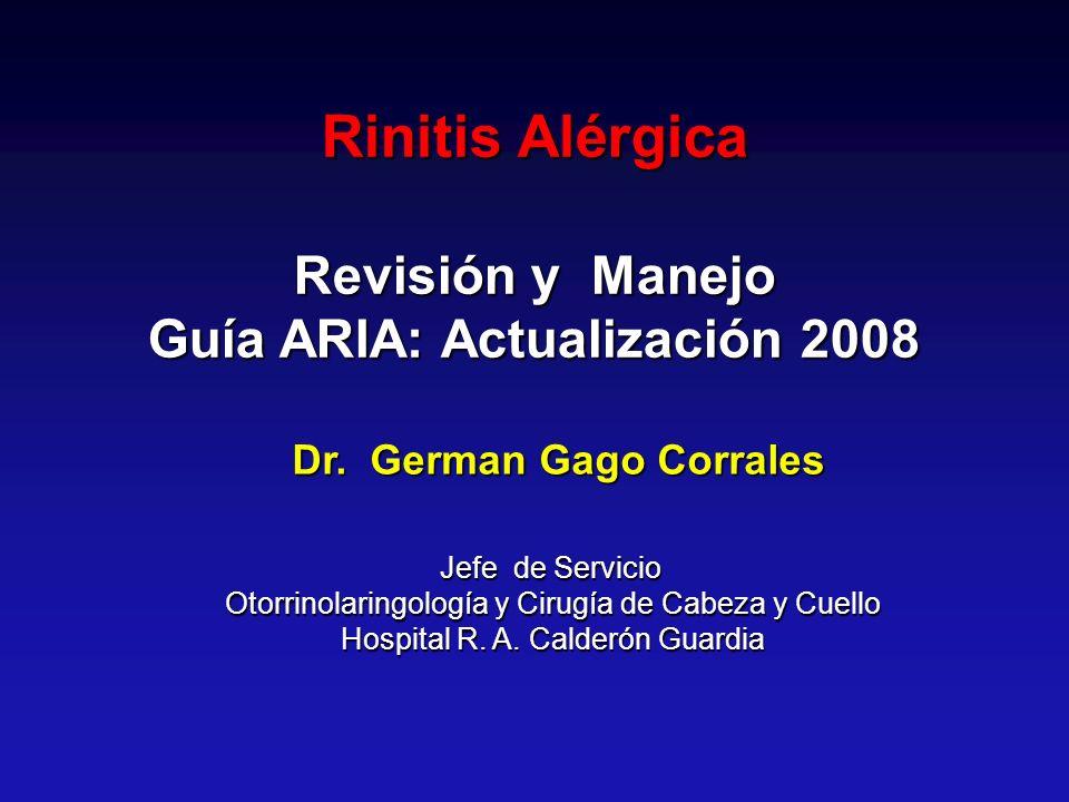 Guía ARIA: Actualización 2008