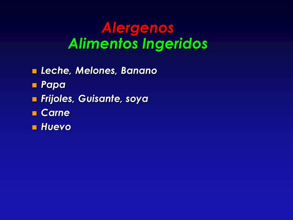 Alergenos Alimentos Ingeridos
