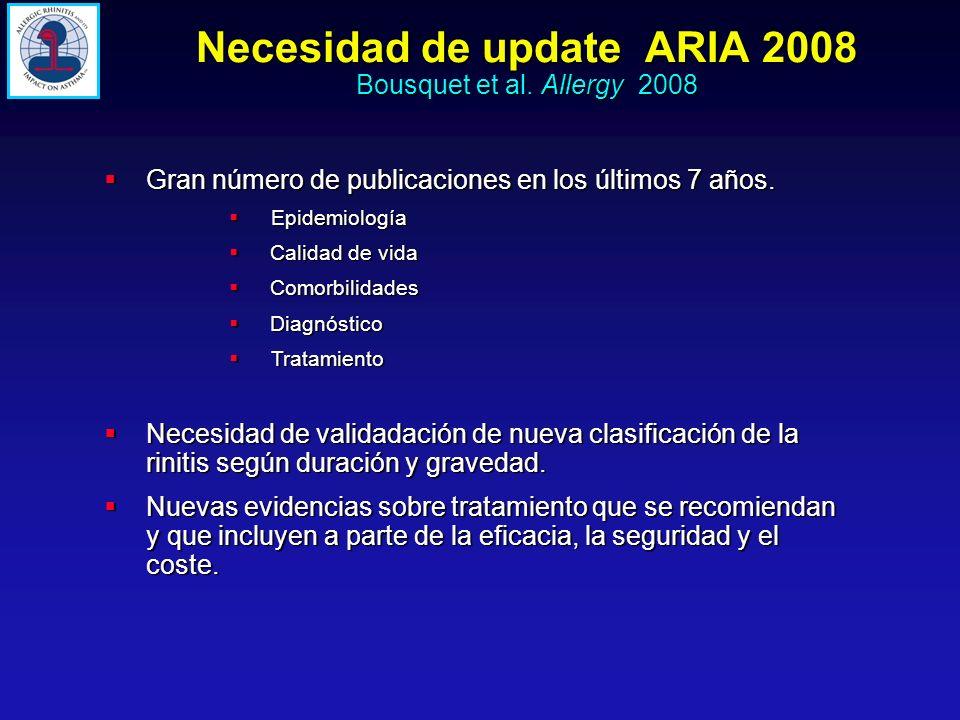Necesidad de update ARIA 2008