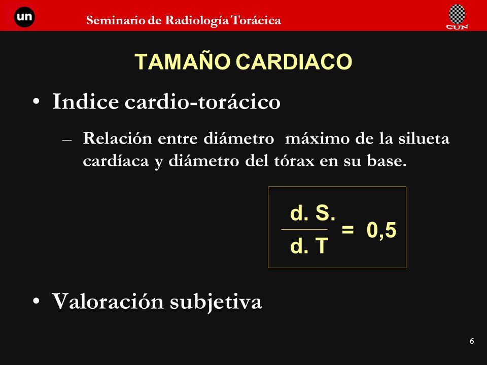Indice cardio-torácico