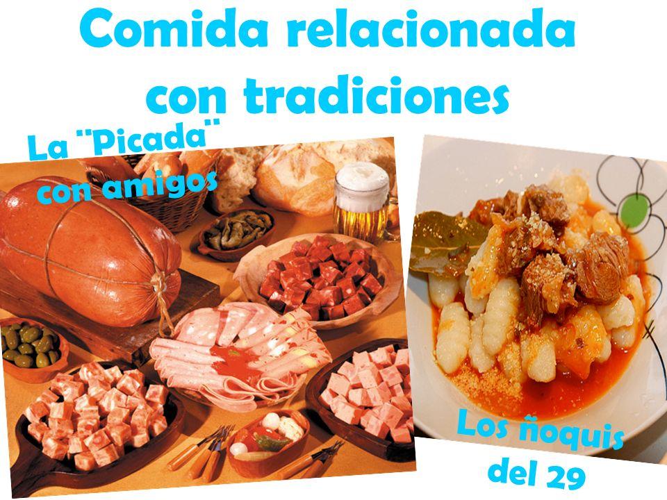 Comida relacionada con tradiciones